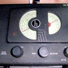Radios antiguas: RECEPTOR A VÁLVULAS HALLICRAFTERS (USA) MODELO S38 AÑOS 40. BUENA CONSERVACIÓN Y FUNCIONANDO !!. Lote 76176547