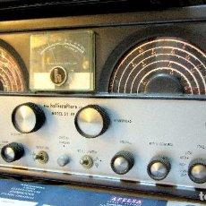 Radios antiguas: RECEPTOR HALLICRAFTERS (USA), A VÁLVULAS MODELO SX99...FUNCIONANDO !!. Lote 80483637