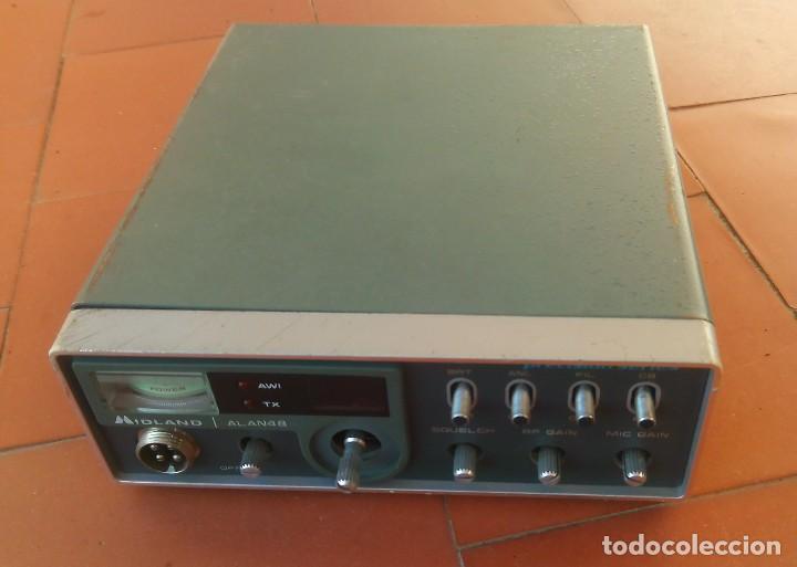 Radios antiguas: radiotelefono CB Midland Alan 48 .partes o desguace.....sanna - Foto 2 - 81692348