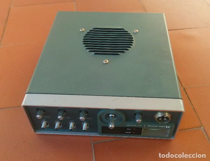 Radios antiguas: radiotelefono CB Midland Alan 48 .partes o desguace.....sanna - Foto 3 - 81692348