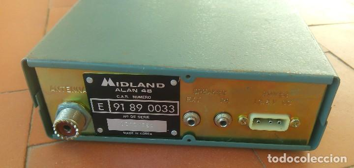 Radios antiguas: radiotelefono CB Midland Alan 48 .partes o desguace.....sanna - Foto 4 - 81692348