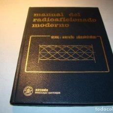 Radios antiguas: MANUAL DEL RADIOAFICIONADO MODERNO - MARCOMBO . Lote 82250008
