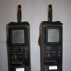 Radios antiguas: DOS WALKIE TALKI 3WATT/3CHANNEL CRYSTALS. GREAT C.B. TRANSCEIVEA. RADIO TRANSMISOR.. Lote 84475904
