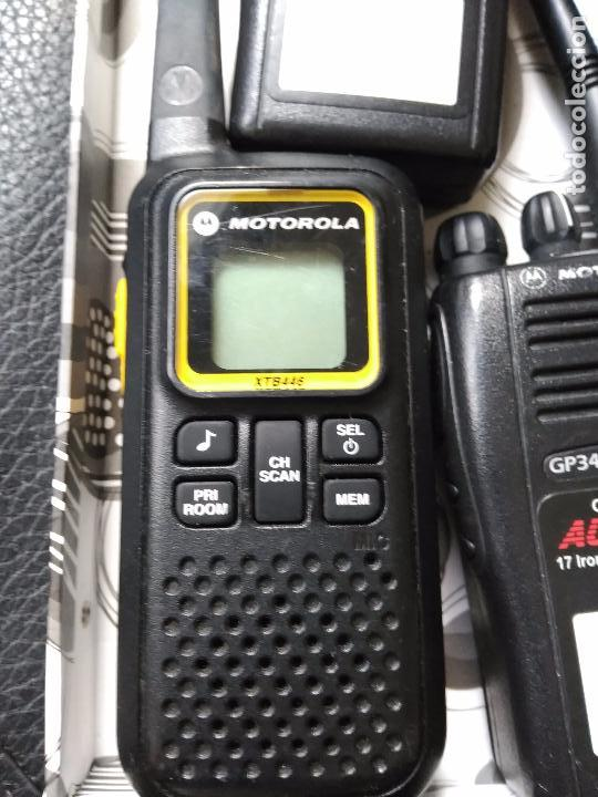 Radios antiguas: Radio walkie talkie motorola xtb446 - Foto 3 - 86484512