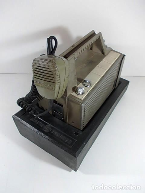 ANTIGUA EMISORA DE RADIO AFICIONADO PORTATIL DE LA GENERAL ELECTRIC (Radios, Gramófonos, Grabadoras y Otros - Radioaficionados)