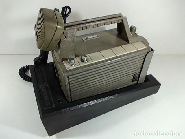 Radios antiguas: ANTIGUA EMISORA DE RADIO AFICIONADO PORTATIL DE LA GENERAL ELECTRIC - Foto 3 - 86748264