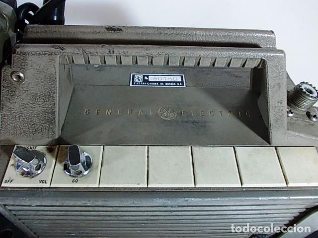Radios antiguas: ANTIGUA EMISORA DE RADIO AFICIONADO PORTATIL DE LA GENERAL ELECTRIC - Foto 5 - 86748264