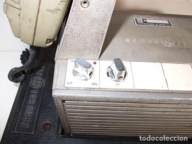 Radios antiguas: ANTIGUA EMISORA DE RADIO AFICIONADO PORTATIL DE LA GENERAL ELECTRIC - Foto 6 - 86748264