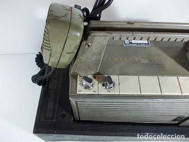 Radios antiguas: ANTIGUA EMISORA DE RADIO AFICIONADO PORTATIL DE LA GENERAL ELECTRIC - Foto 7 - 86748264