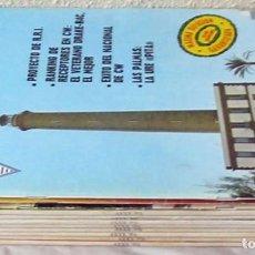 Radios antiguas: LOTE DE 11 REVISTAS 1984 - URE / UNIÓN DE RADIOAFICIONADOS ESPAÑOLES - VER FOTOS. Lote 87505968