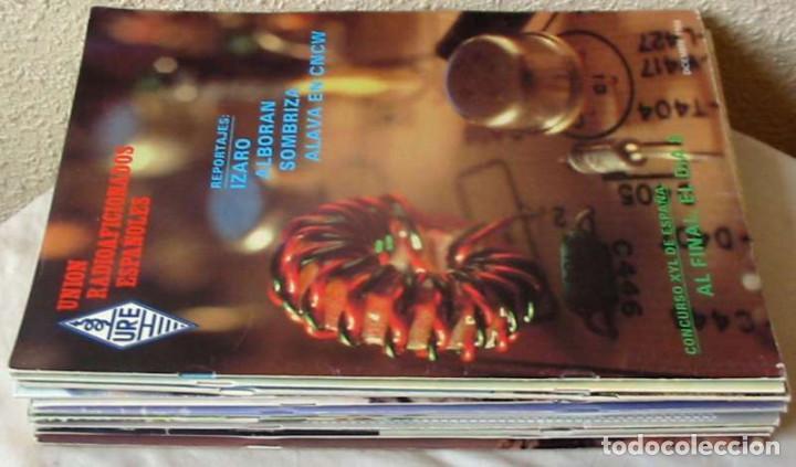 LOTE DE 11 REVISTAS 1988 - URE / UNIÓN DE RADIOAFICIONADOS ESPAÑOLES - VER FOTOS (Radios, Gramófonos, Grabadoras y Otros - Radioaficionados)
