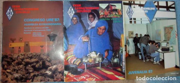 Radios antiguas: LOTE DE 11 REVISTAS 1988 - URE / UNIÓN DE RADIOAFICIONADOS ESPAÑOLES - VER FOTOS - Foto 2 - 87508256