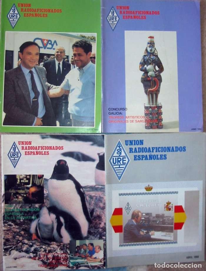 Radios antiguas: LOTE DE 11 REVISTAS 1988 - URE / UNIÓN DE RADIOAFICIONADOS ESPAÑOLES - VER FOTOS - Foto 3 - 87508256