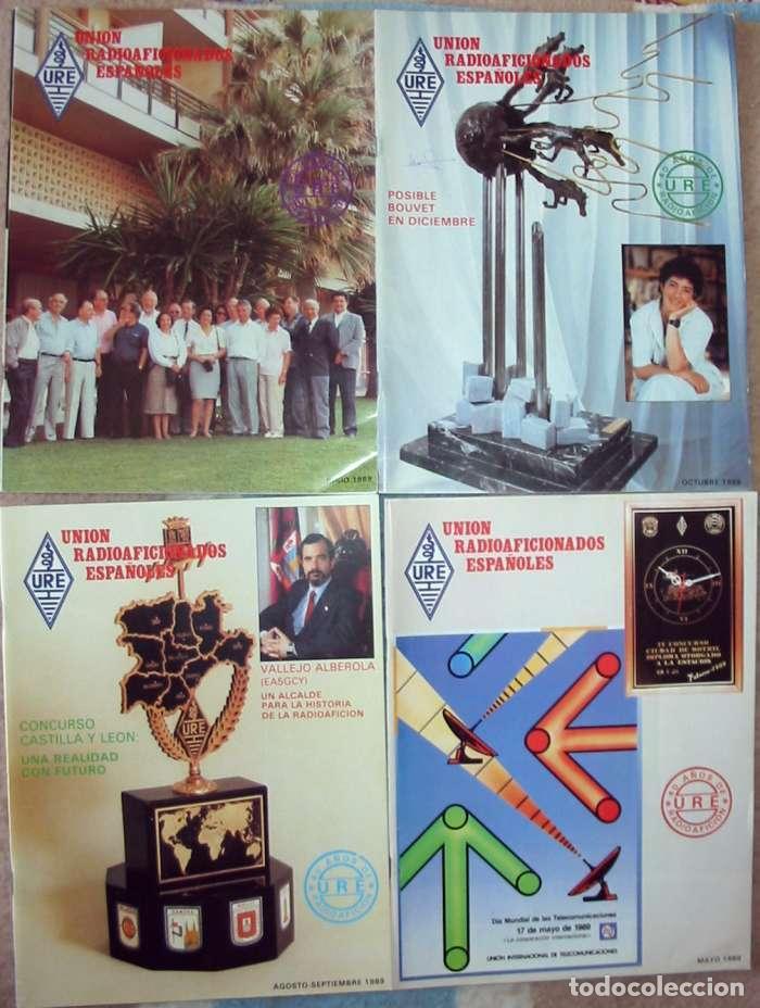 Radios antiguas: LOTE DE 11 REVISTAS 1989 - URE / UNIÓN DE RADIOAFICIONADOS ESPAÑOLES - VER FOTOS - Foto 2 - 87508572