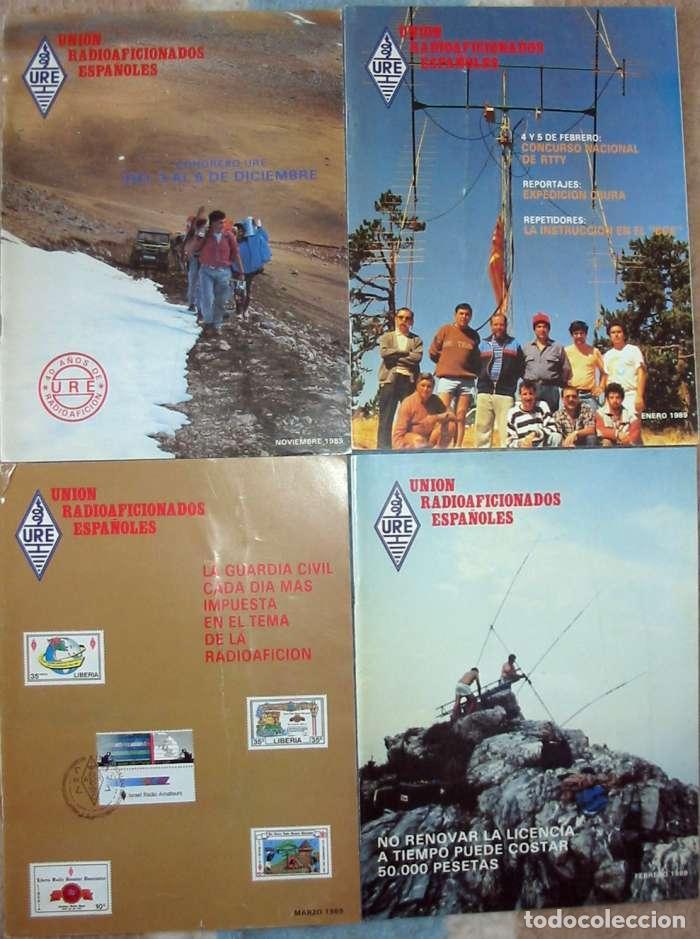 Radios antiguas: LOTE DE 11 REVISTAS 1989 - URE / UNIÓN DE RADIOAFICIONADOS ESPAÑOLES - VER FOTOS - Foto 3 - 87508572