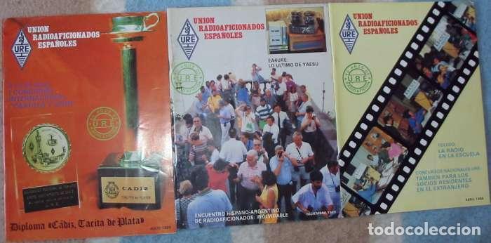 Radios antiguas: LOTE DE 11 REVISTAS 1989 - URE / UNIÓN DE RADIOAFICIONADOS ESPAÑOLES - VER FOTOS - Foto 4 - 87508572