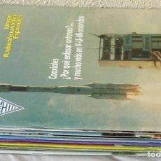Radios antiguas: LOTE DE 11 REVISTAS 1991 - URE / UNIÓN DE RADIOAFICIONADOS ESPAÑOLES - VER FOTOS. Lote 87509180