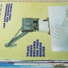 Radios antiguas: LOTE DE 10 REVISTAS 1995 - URE / UNIÓN DE RADIOAFICIONADOS ESPAÑOLES - VER FOTOS. Lote 87510368
