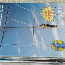 Radios antiguas: LOTE DE 8 REVISTAS 1996 - URE / UNIÓN DE RADIOAFICIONADOS ESPAÑOLES - VER FOTOS. Lote 87510560