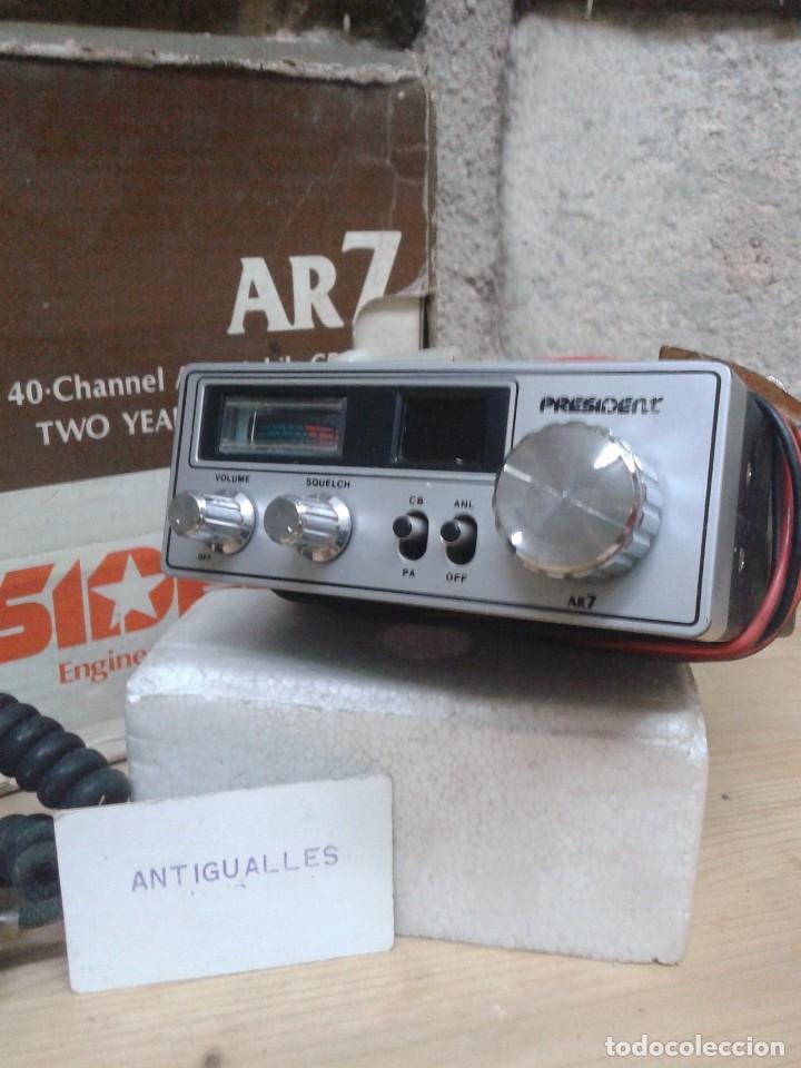 Radios antiguas: EMISORA RADIOAFICIONADO PRESIDENT AR7.NUEVA,SIMILAR RADIO,TRANSISTOR,VALVULA. - Foto 2 - 88910928