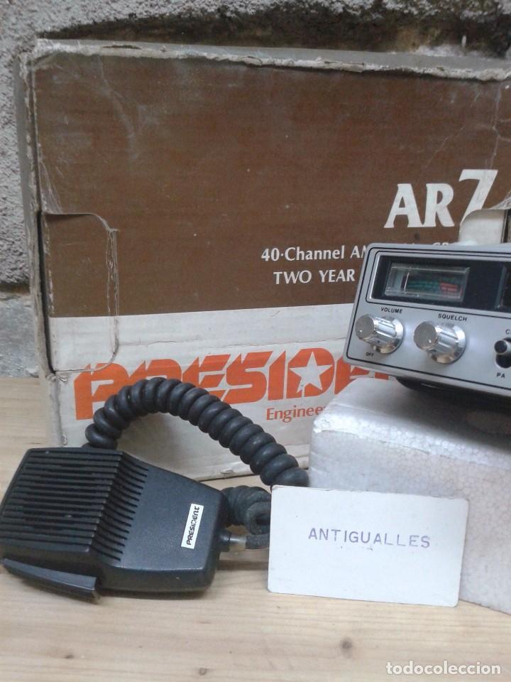 Radios antiguas: EMISORA RADIOAFICIONADO PRESIDENT AR7.NUEVA,SIMILAR RADIO,TRANSISTOR,VALVULA. - Foto 3 - 88910928