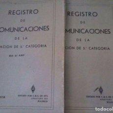 Radios antiguas: HISTORIAL COMPLETO ESTACIÓN EA-3-ADT DEL 1974 AL 1985. Lote 94197755