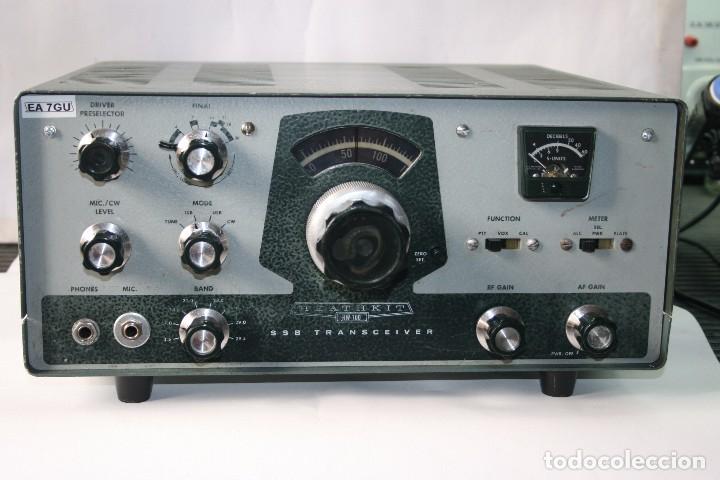 TRANSCEPTOR HEATKIT HW-100 MAS FUENTE DE ALIMENTACION (Radios, Gramófonos, Grabadoras y Otros - Radioaficionados)