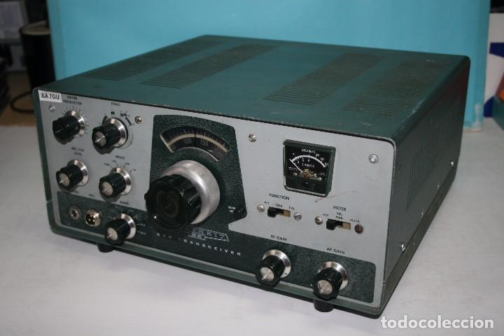 Radios antiguas: transceptor heatkit HW-100 mas fuente de alimentacion - Foto 2 - 96464755