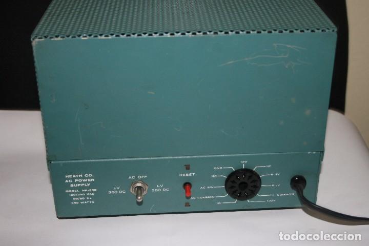 Radios antiguas: transceptor heatkit HW-100 mas fuente de alimentacion - Foto 3 - 96464755