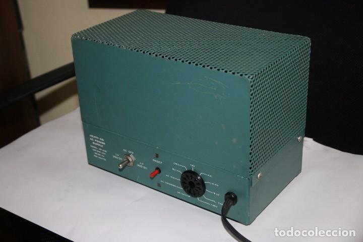 Radios antiguas: transceptor heatkit HW-100 mas fuente de alimentacion - Foto 4 - 96464755