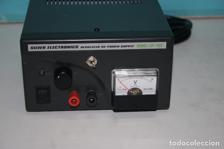 FUENTE DE ALIMENTACION (Radios, Gramófonos, Grabadoras y Otros - Radioaficionados)