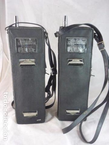 Radios antiguas: Transceptor TOKAI TC-5005 - Japan - 2 Unidades - Con Manual - Foto 3 - 96701847