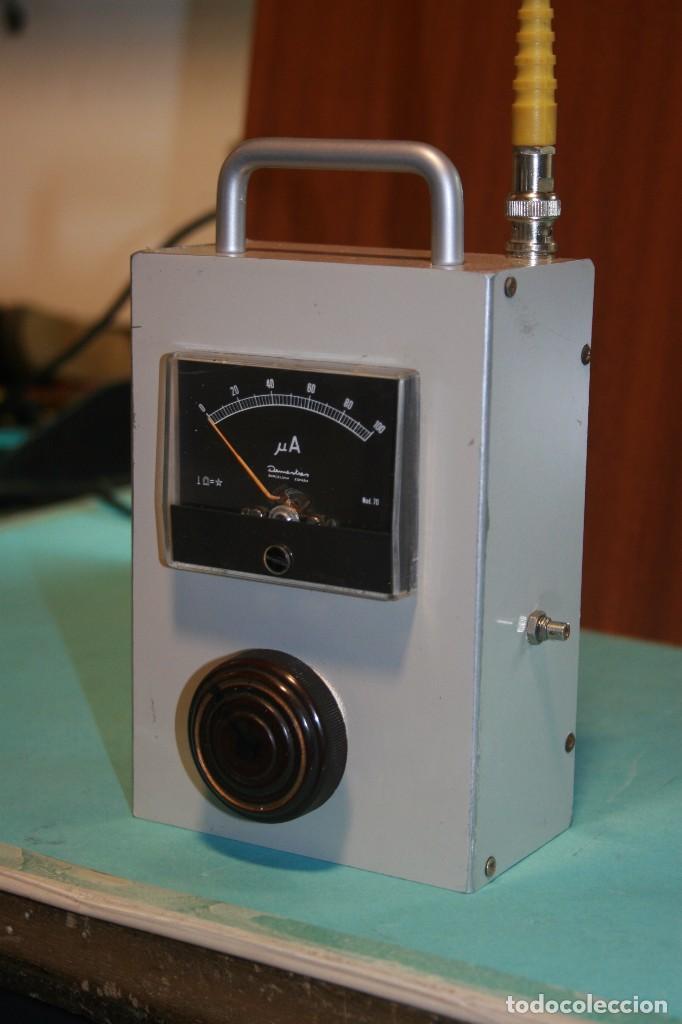 MEDIDOR DE CAMPO VHF. (Radios, Gramófonos, Grabadoras y Otros - Radioaficionados)