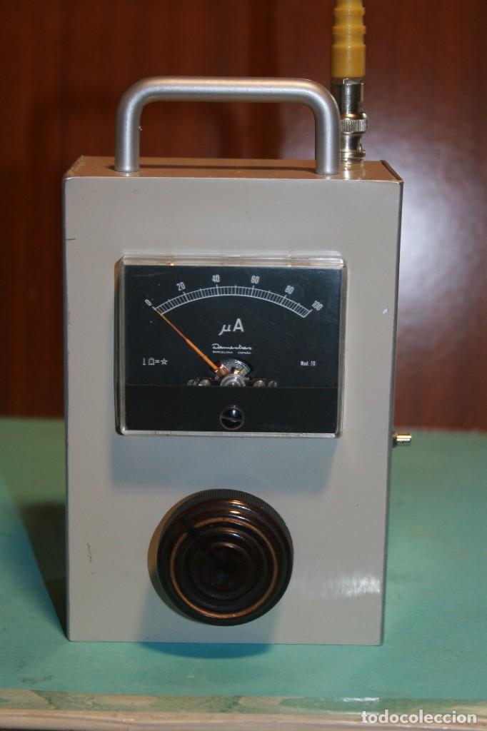Radios antiguas: medidor de campo vhf. - Foto 2 - 96771151