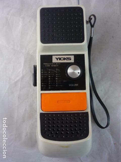 Radios antiguas: Walkie Talkie YICKS - Años 80 - Foto 4 - 97165131
