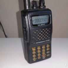 Radios antiguas: YAESU FT-60 MULTI BANDA VHF UHF TRANSCEPTOR ESCANNER- RX 108-520 / 700-999 MHZ. Lote 97845159