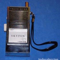 Radios antiguas: TRANSISTOR WALKI SKYFON TRANSCEIVER. Lote 98831331
