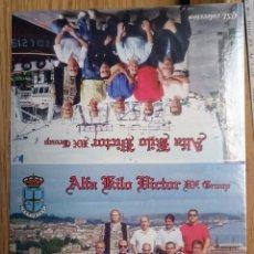 Radios antiguas: TARJETA POSTAL QSL RADIO-AFICIONADO AKV ASTURIAS SOCIOS 2 ( DOBLE). Lote 99695535