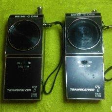 Radios antiguas: JUEGO TALKIE WALKIE TRANSCEIVER7. Lote 101498728