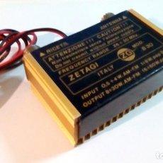 Radios antiguas: AMPLIFICADOR ZETAGI B-30. Lote 103389443
