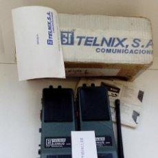 Radios antiguas: TELEFONOS PORTATIL RADIOAFICIONADO TELNIX S.A.LENIUS 3000 VHF PROFESIONAL,NUEVO. Lote 103833263