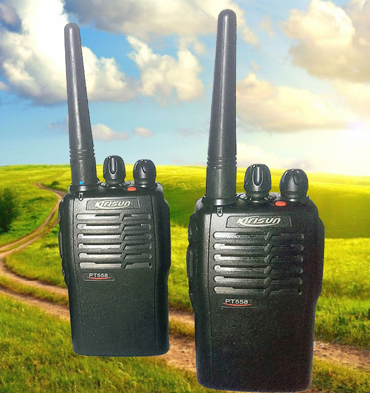 Radios antiguas: Walkie-Talkie Kirisun PT558 - Foto 2 - 78620113