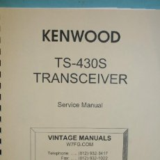 Radios antiguas: MANUAL KENWOOD .. Lote 107437075