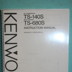 Radios antiguas: MANUAL KENWOOD. Lote 107437391