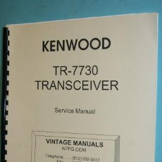 Radios antiguas: MANUAL KENWOOD.. Lote 107438579