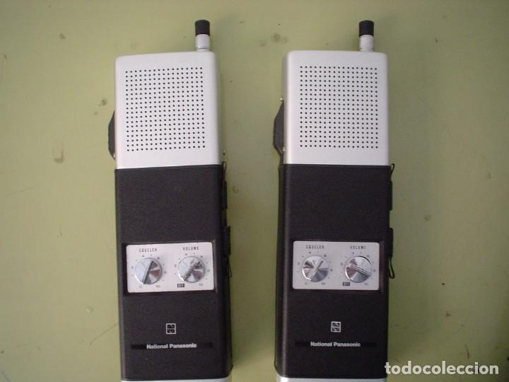 Radios antiguas: EMISORA WALKIE TALKIE NATIONAL PANASONIC RJ-27 - Foto 1 - 108642251
