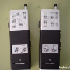 Radios antiguas: EMISORA WALKIE TALKIE NATIONAL PANASONIC RJ-27. Lote 108642251