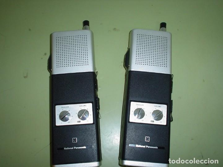 Radios antiguas: EMISORA WALKIE TALKIE NATIONAL PANASONIC RJ-27 - Foto 2 - 108642251