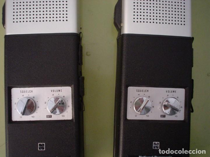 Radios antiguas: EMISORA WALKIE TALKIE NATIONAL PANASONIC RJ-27 - Foto 3 - 108642251