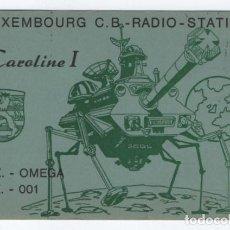 Radios antiguas: (ALB-TC-8) TARJETA RADIOAFICIONADO 1979. Lote 110094179